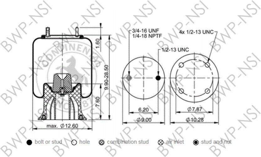 Contitech AS6935 Air Ride Suspension