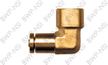 M-4664 - Brass DOT 90° Elbow