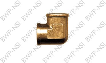 M-4293 - Brass 90° Forged Elbow