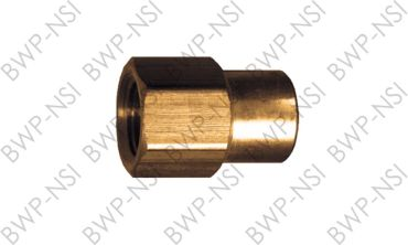 M-4340 - Brass Reducing Coupling