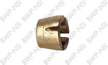M-5128 - Brass Sleeve Slotted