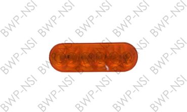 OPSTL12AB - 6Oval 6LED TailLight Amber