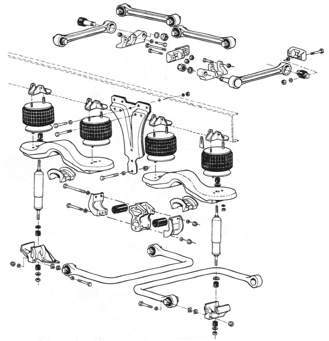 Kenworth Airglide 100 Suspension Parts