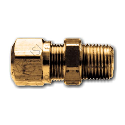Brass Connector 5/16 Tube x 1/4 MPT