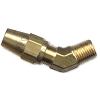 Brass DOT 45° Compression Elbow