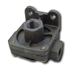 QR-1 Quick Release Valve 1/2 Supply - 3/8 Delivery