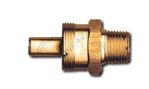Brass DOT Coupler Body 3/8 Hose x 3/8 MPT
