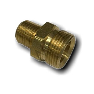 Brass Hose Adapter 7/8-20 Hose x 3/8 MPT